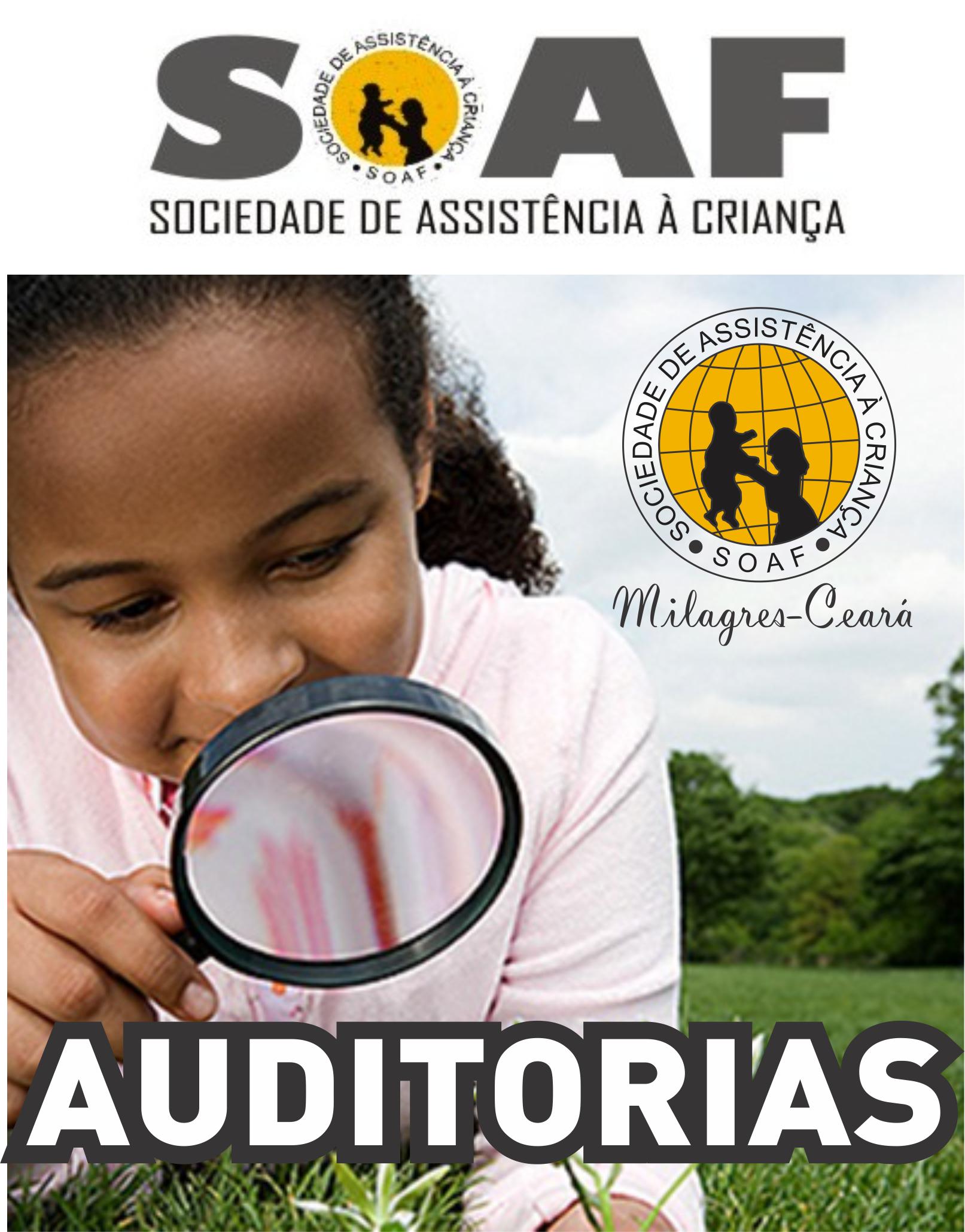 Auditorias / Anos: 2015-2016-2017