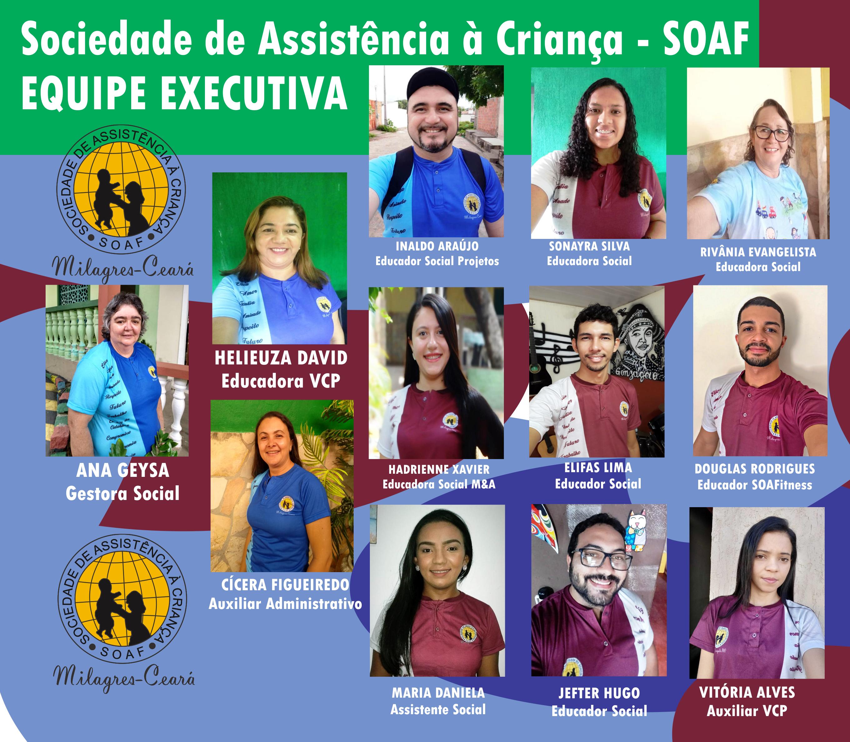 Equipe Executiva da SOAF