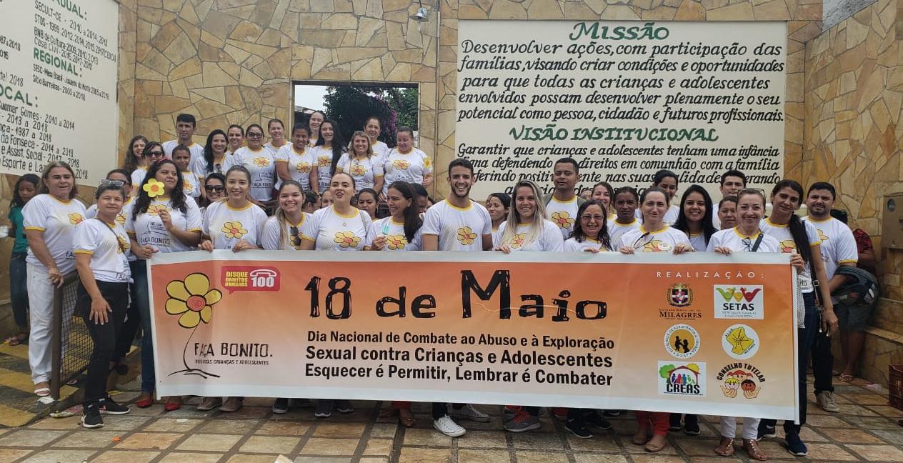 SOAF na Campanha 18 de Maio – Combate à Violência Sexual Infantil