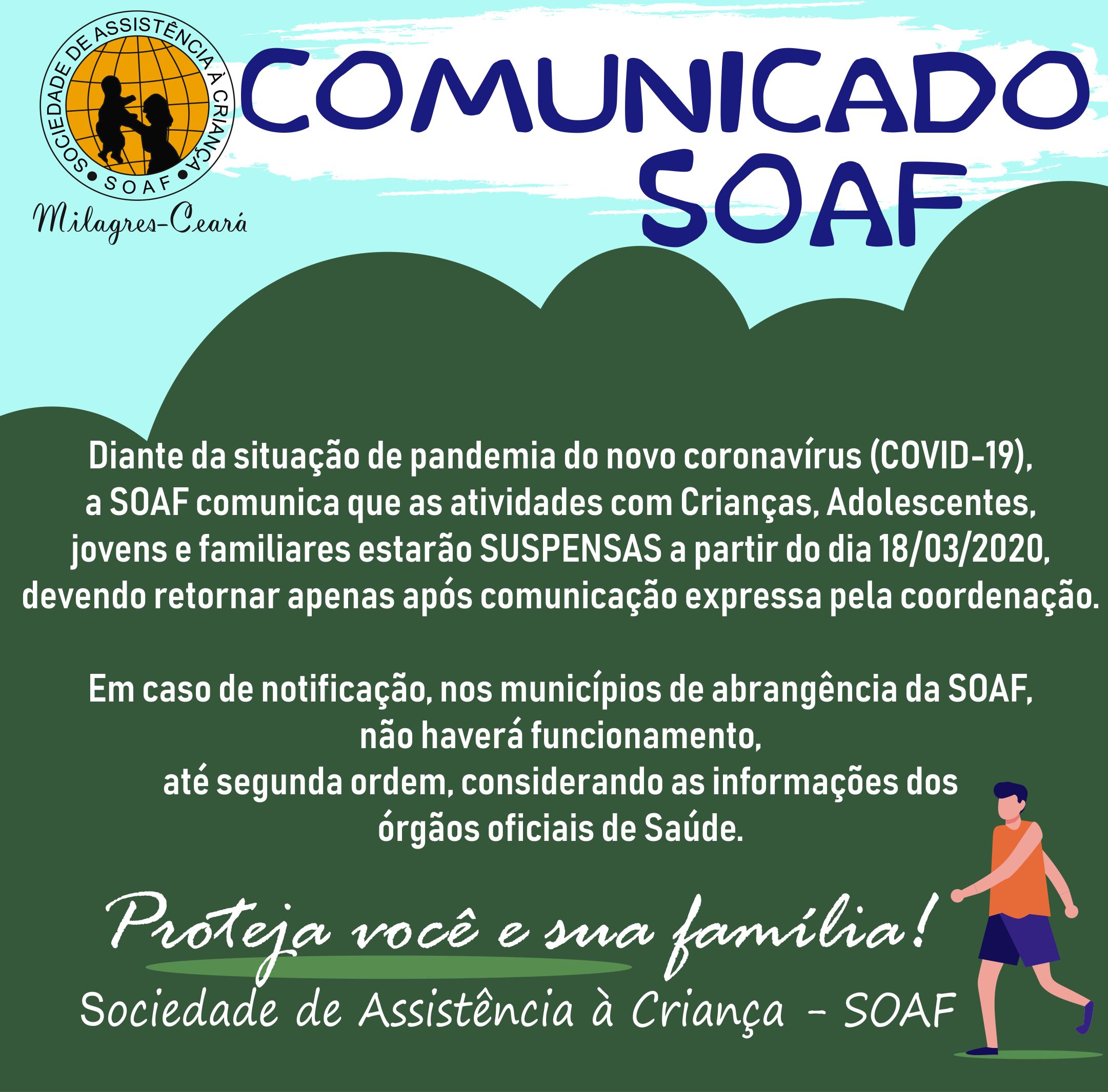 Comunicado SOAF