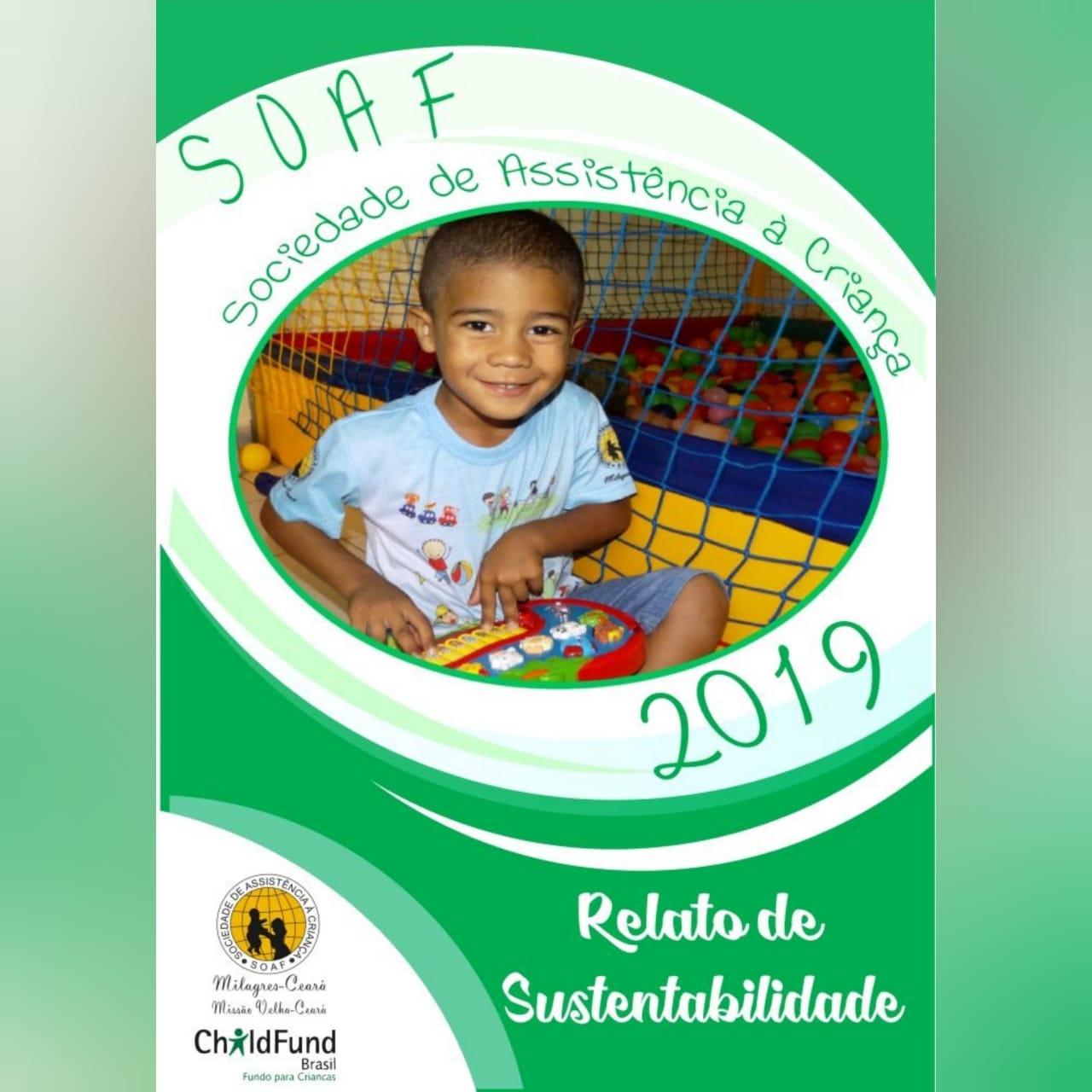 SOAF lança o Relato de Sustentabilidade 2019